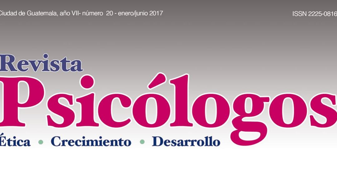 Convocatoria para la edición No. 26 de la Revista Psicólogos